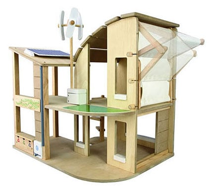 Lil Links: Help Your Kiddo Go Green With Eco-Dollhouse