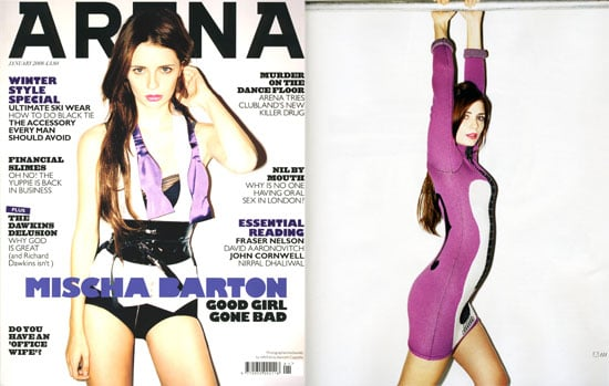 Mischa Barton in Arena Magazine, January 2008