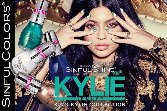 Kylie Jenner and SinfulColors Nail Polish