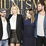 Chris Hemsworth at Huntsman Winter's War Germany Pictures