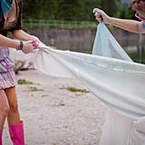 Trash-the-Dress Sister Shoot