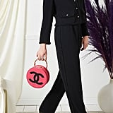 Chanel Black Braid Trim Tuxedo Suit