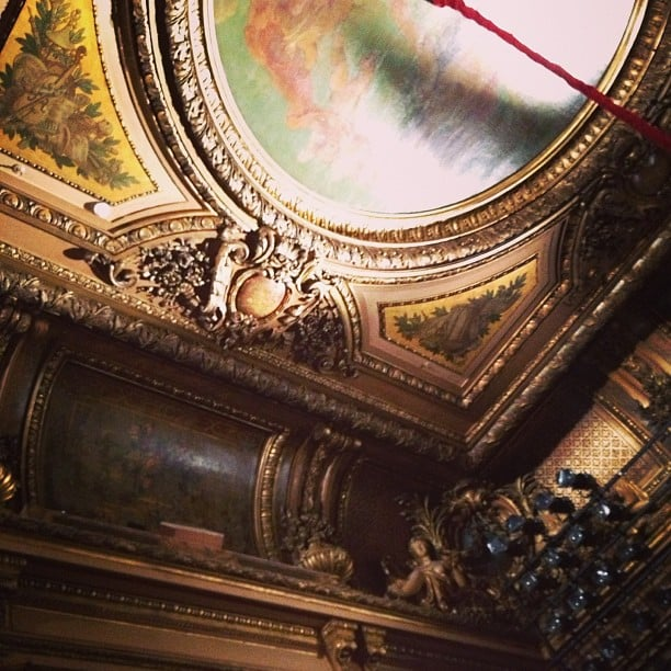 How beautiful was the ceiling at Roland Mouret?