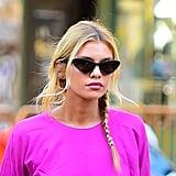 Stella Maxwell's Moschino Sunglasses