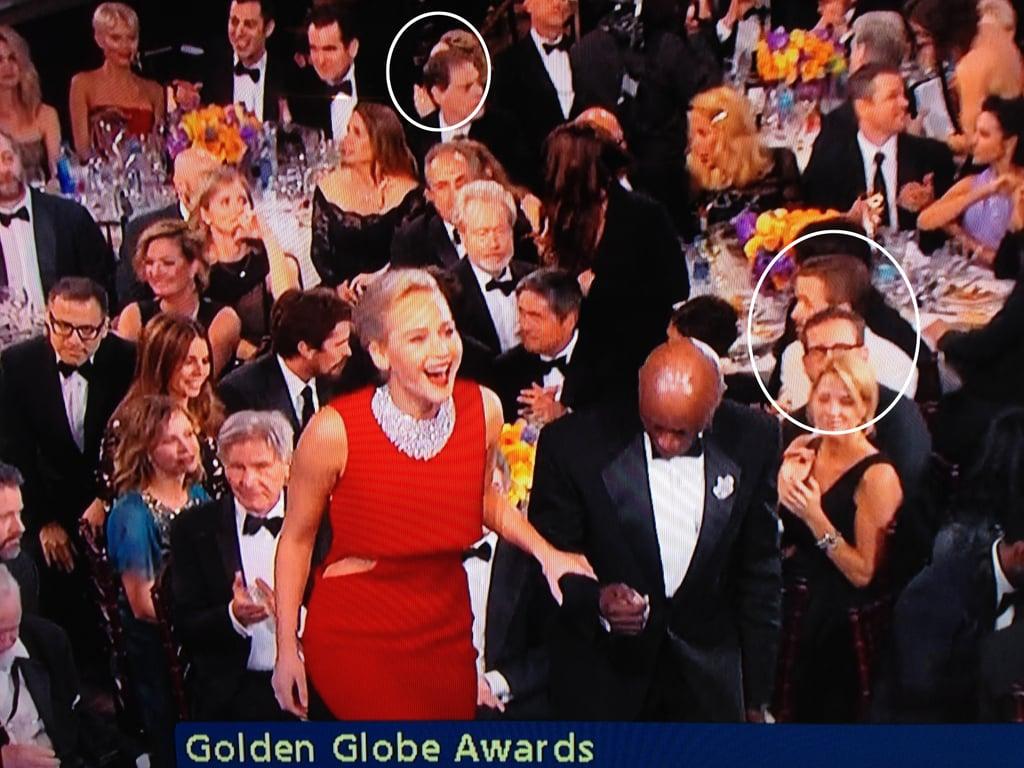 Ryan Gosling and Rachel McAdams at the Golden Globes