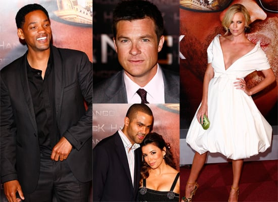 Photos Of Will Smith, Charlize Theron and Jason Bateman At Hancock Premiere In Paris