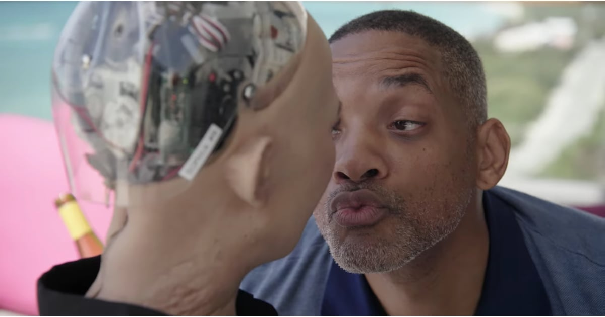 Will Smith Had A Date With Sophia The Robot And Help I Cant Stop