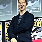 Pictured: Benedict Cumberbatch at San Diego Comic-Con.