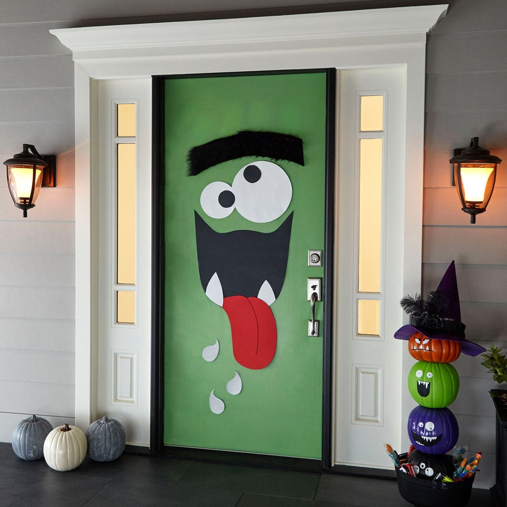 Monster Door Decor ($1-$8) & Monster Door Decor ($1-$8) | Michaels Halloween Decorations 2017 ...