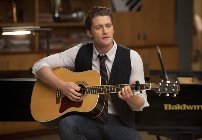 Matthew Morrison on Glee. Photo courtesy of Fox