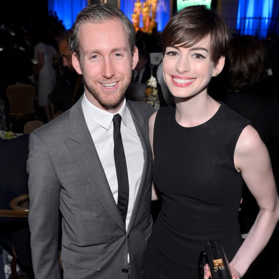Anne Hathaway First Photo of Son March 2017