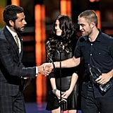 Zachary Levi, Ashley Greene, and Robert Pattinson