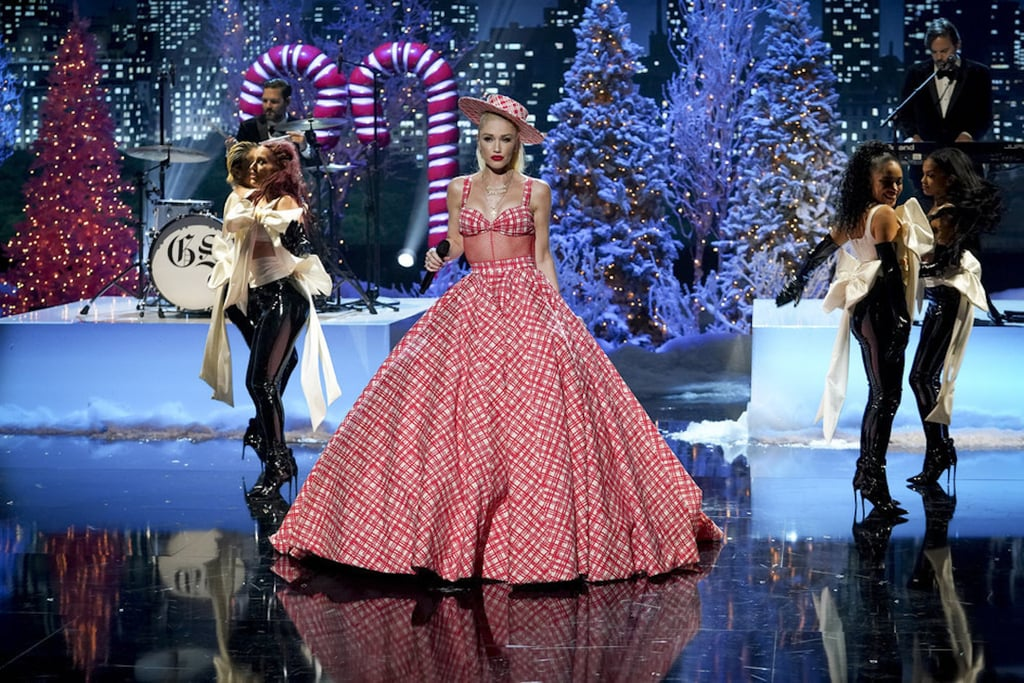 Gwen Stefani's 2020 Rockefeller Center Christmas Dresses