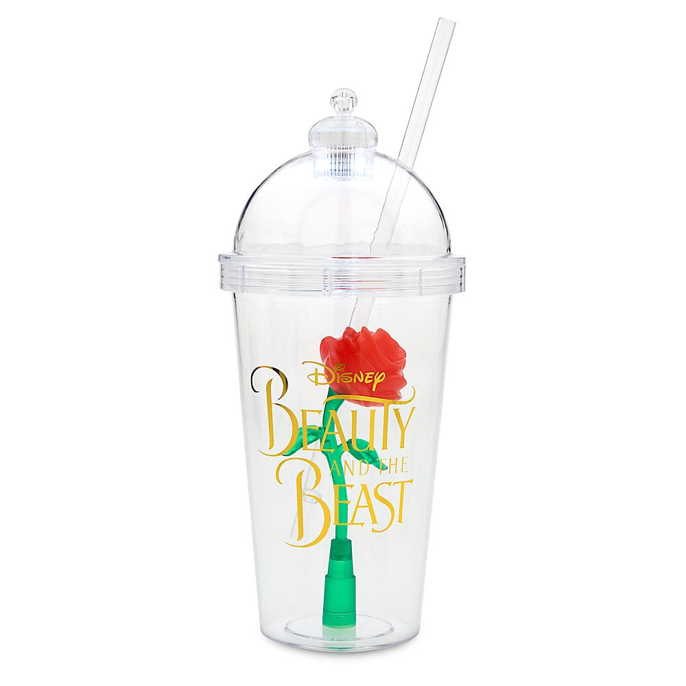 Beauty And The Beast Enchanted Rose Tumblers At Disney