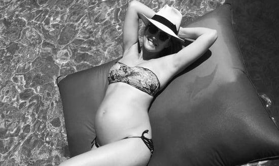 17 Pregnant Celebrities Totally Rocking Bikinis