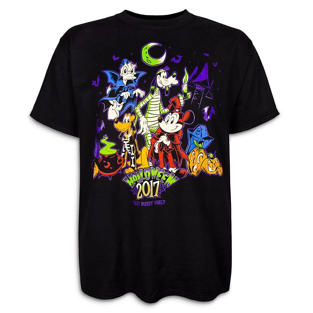 Mickey Mouse and Friends Halloween T-Shirt for Adults - Walt ...