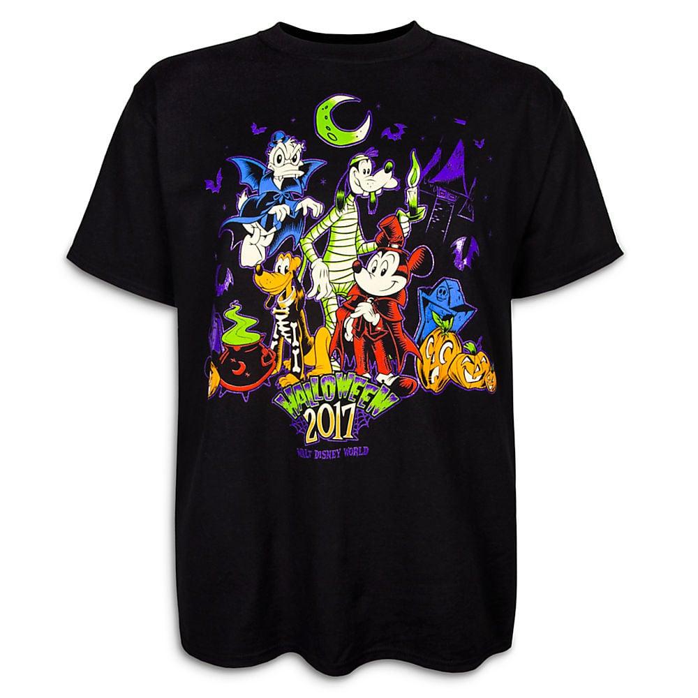 Walt Disney World Halloween T Shirts.Mickey Mouse And Friends Halloween T Shirt For Adults Walt Disney