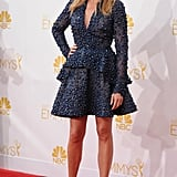 In 2014, Julia surprised us all with this beaded A-line minidress from Elie Saab at the Emmy Awards.