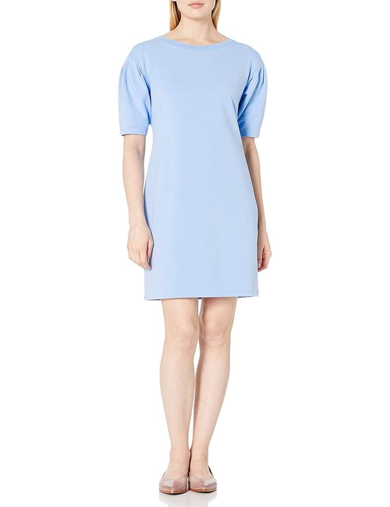 Daily Ritual Terry Cotton Sweatshirt Dress