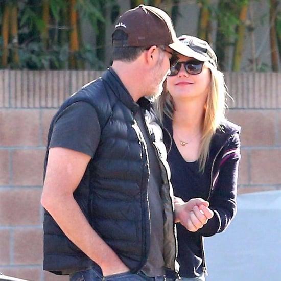 Anna Faris and Michael Barrett Holding Hands in LA Dec. 2017