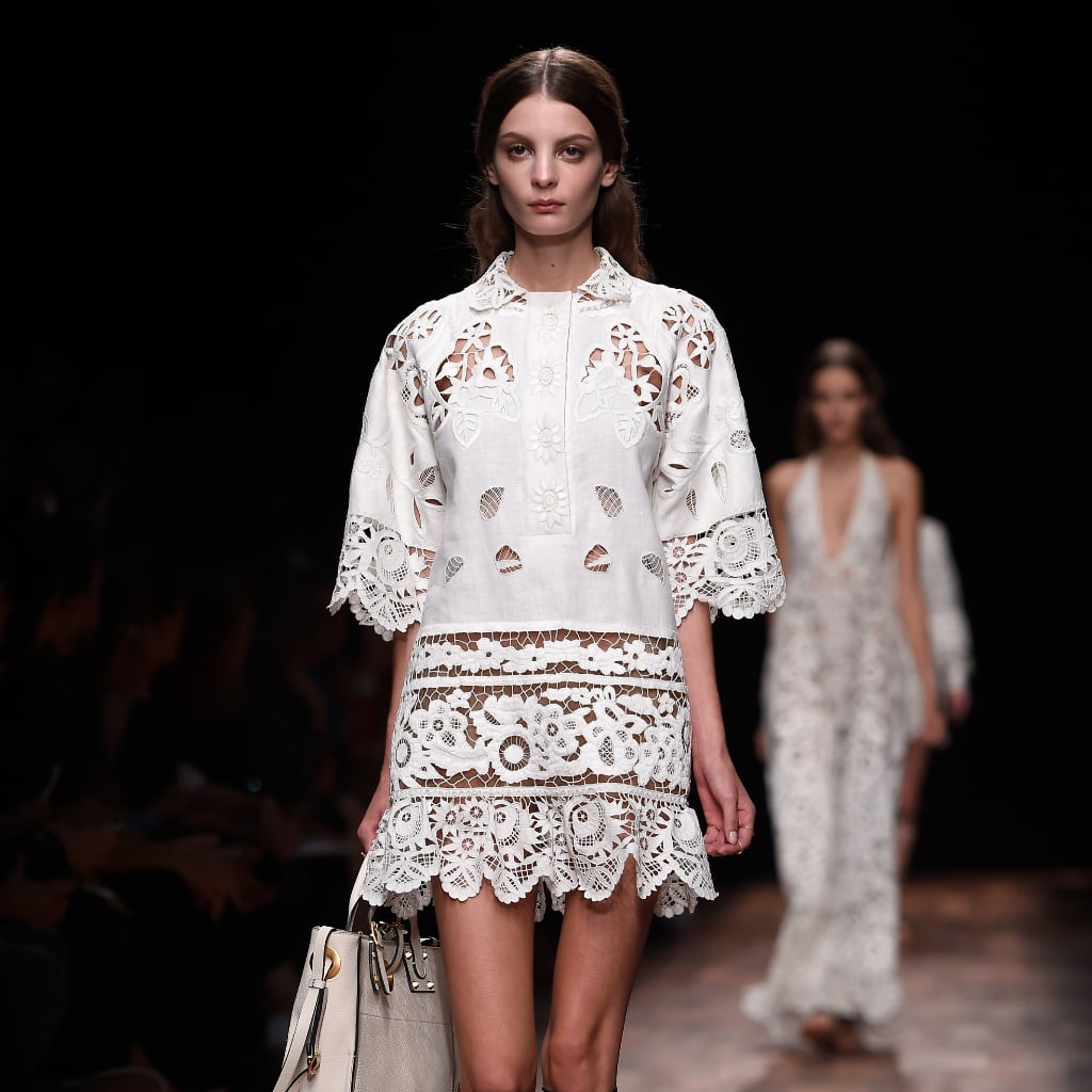 Valentino Proves There's Nothing Wrong With Just Sending Beautiful Dresses Down the Runway