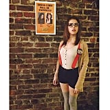 Anna Kendrick spotlighted her theme-party costume and a funny sign picking on her. Source: Instagram user annakendrick47