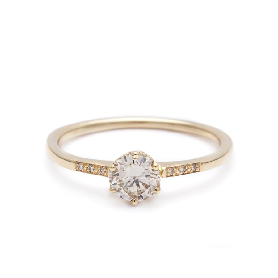 rings ring cfm engagementdetails diamond rose engagement wedding gold in halo champagne