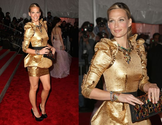 The Met's Costume Institute Gala: Molly Sims