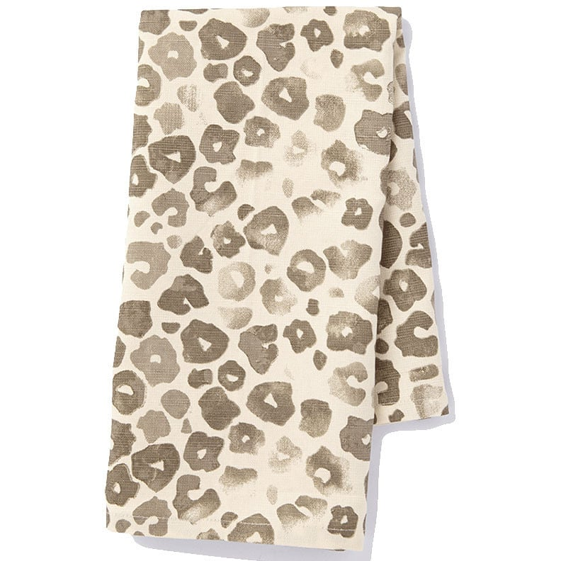 Who says dish towels need to be boring? These chic leopard tea towels ($15) will punch up any kitchen's design factor.  — AE