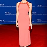 Katharine McPhee was pretty in pink.
