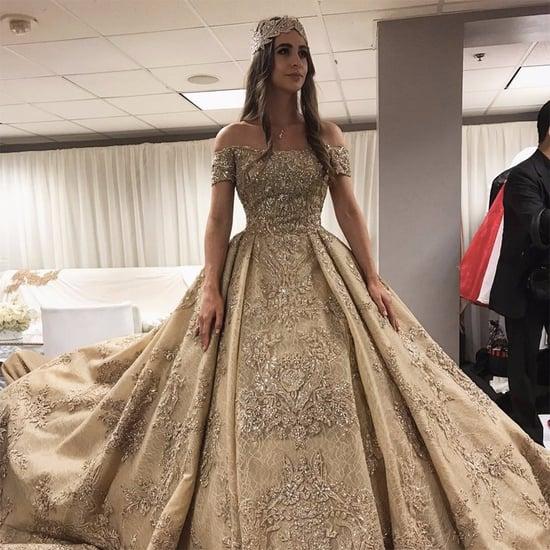 Lolita Osmanova's Zuhair Murad Wedding Dress