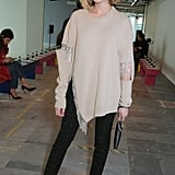 Laura Carmichael at the Christopher Kane Show