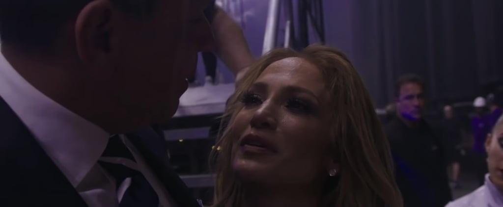 Alex Rodriguez Comforting Jennifer Lopez After Concert Video