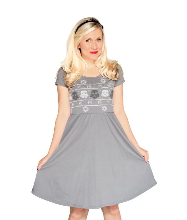 Darth Vader Knit Pattern Dress ($40)