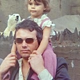"""She got in on Throwback Thursday with this old snap, writing, """"Me and my dad. How cool is he!!! I love u daddy."""" Source: Twitter user victoriabeckham"""