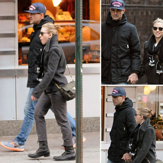 Scarlett Johansson With New Man in NYC Pictures