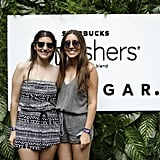 Sometimes keeping it simple with rompers is the way to go, as you can see from these looks at the POPSUGAR x Starbucks Refreshers party.