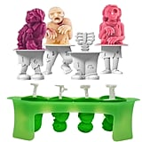 Funny Zombie Popsicle Molds With Sticks — 4 Count