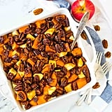 Glazed Sweet Potatoes With Honey Whisky Pecans