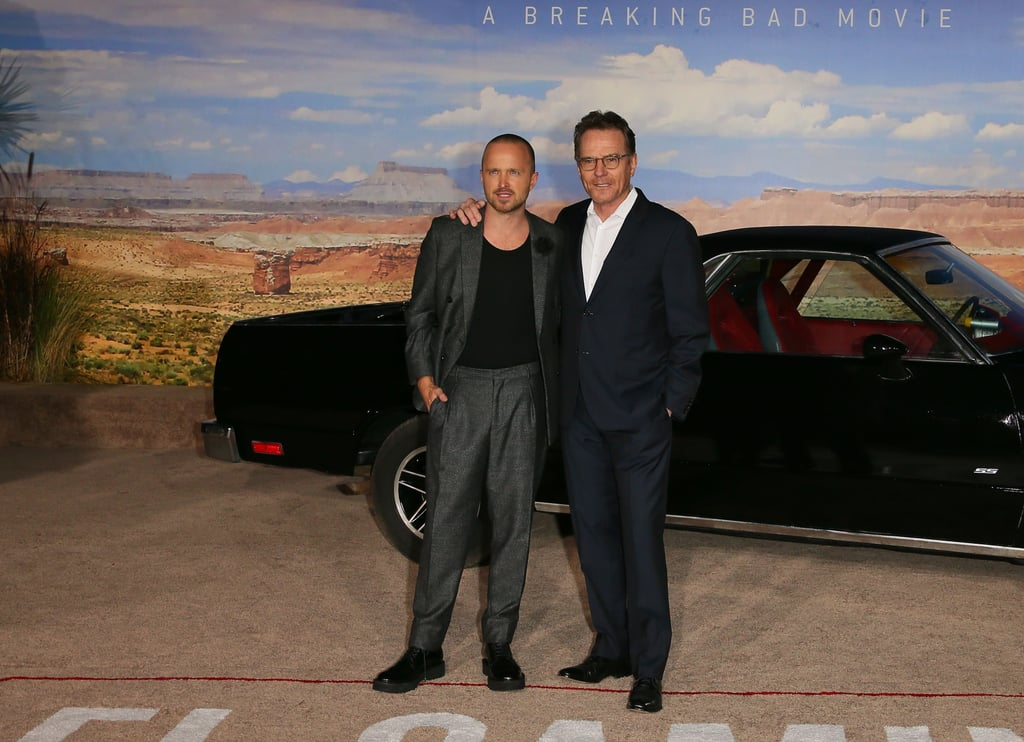 The Breaking Bad Cast Reunited at the El Camino Premiere
