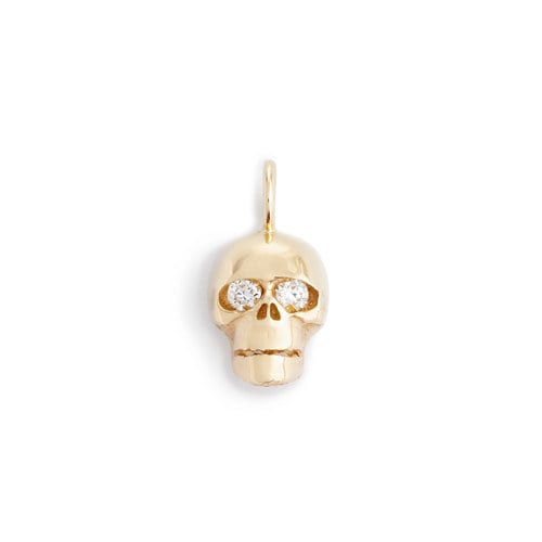 Jennifer Fisher x J.Crew Skull With Diamond Eyes Charm