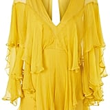 Topshop Ruffle Plunge Playsuit