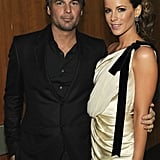 Kate Beckinsale and Len Wiseman, 2012