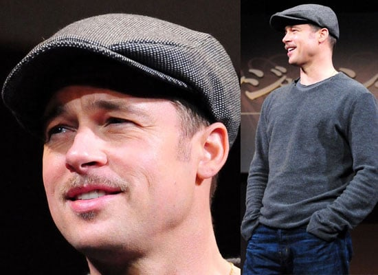 Photos of Brad Pitt at Tokyo Press Conference With David Fincher, Watch the Trailer for The Curious Case of Benjamin Button