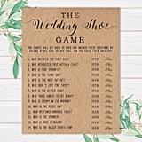 The Wedding Shoe Printable Bridal Shower Game