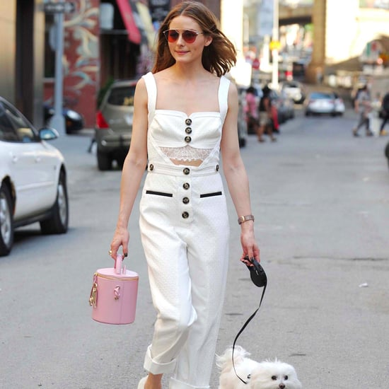 Olivia Palermo Self Portrait Jumpsuit