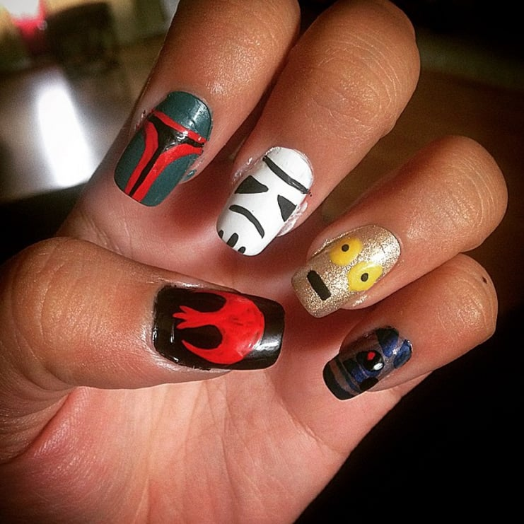 Star Wars Nail Art | POPSUGAR Beauty Middle East Photo 27