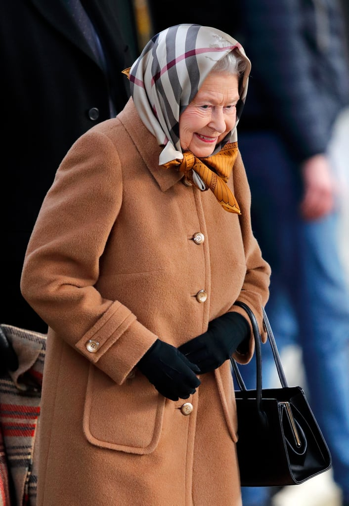 Queen Elizabeth II is feeling the holiday spirit! After hosting her annual Christmas lunch at Buckingham Palace, the British monarch embarked on her yearly train ride to Sandringham, where she will spend Christmas with the royal family. On Thursday, the queen took a train from London King's Cross (commandeering a first class carriage, of course) to King's Lynn, Norfolk. Elizabeth appeared in good spirits as she flashed a sweet smile and bundled up in a brown coat and scarf.  Every year, the royal family travels to Sandringham Estate for Christmas. On Christmas Eve, the brood gets together for afternoon tea in the White Drawing Room, opens gifts, and ends the night with a black-tie dinner and drinks. The queen is apparently a big fan of a cocktail called the Zaza, which is made from Dubonnet and gin. The following day, the family gets up early and attends a 9 a.m. service at the church of St Mary Magdalene. Prince Harry, Meghan Markle, Kate Middleton, and Prince William are all expected to attend; however, this Christmas is extra special for the Duke and Duchess of Sussex as it marks their first Christmas as husband and wife. We wonder if the queen has anything special planned for them!       Related:                                                                                                           11 Surprising Things We Learned About the Royal Family Recently