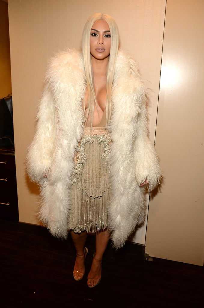 The Kardashian-Jenner Family at Kanye West's Fashion Show