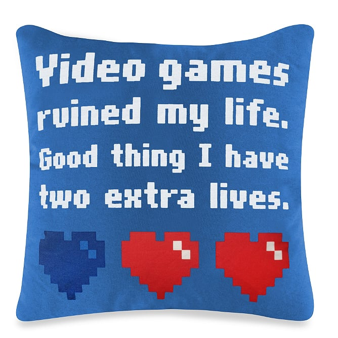 More than one Zelda fan can relate to this pillow ($10, originally $15) that'll get guests talking next time they're over for a gaming marathon.